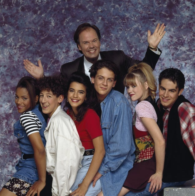 The entire cast of Saved by the Bell: The New Class