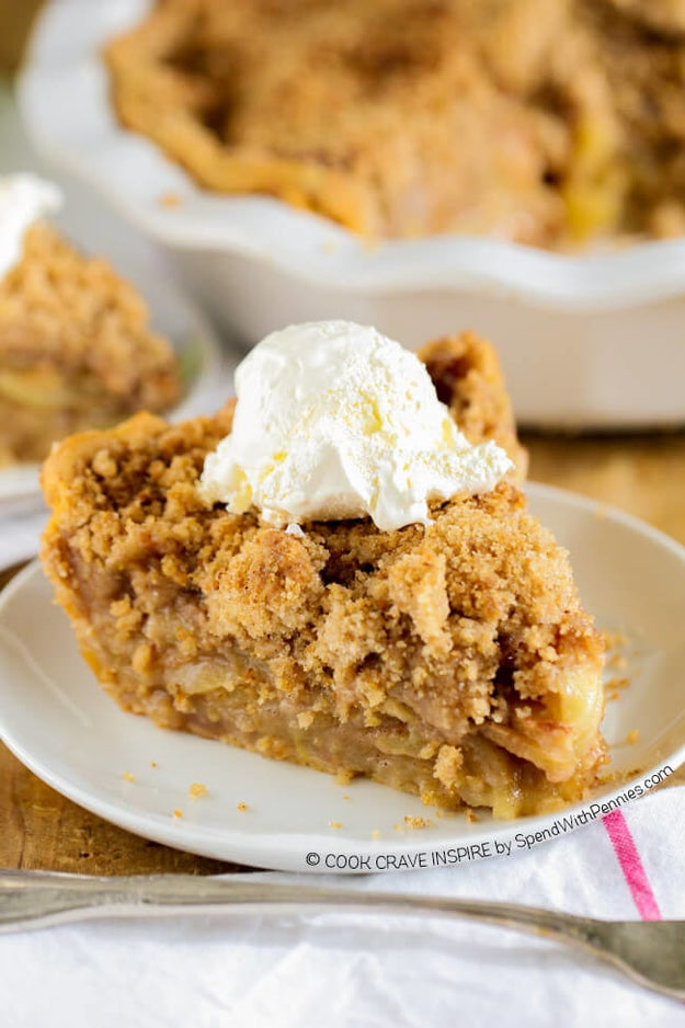 The Best Apple Crunch Pie Ever
