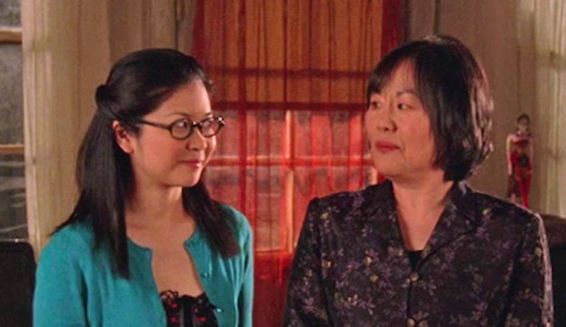 According to the writers, the reason we never meet Lane's (Keiko Agena) father in the original series is that it just never came up in the writers room.