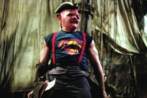 Sloth from Goonies