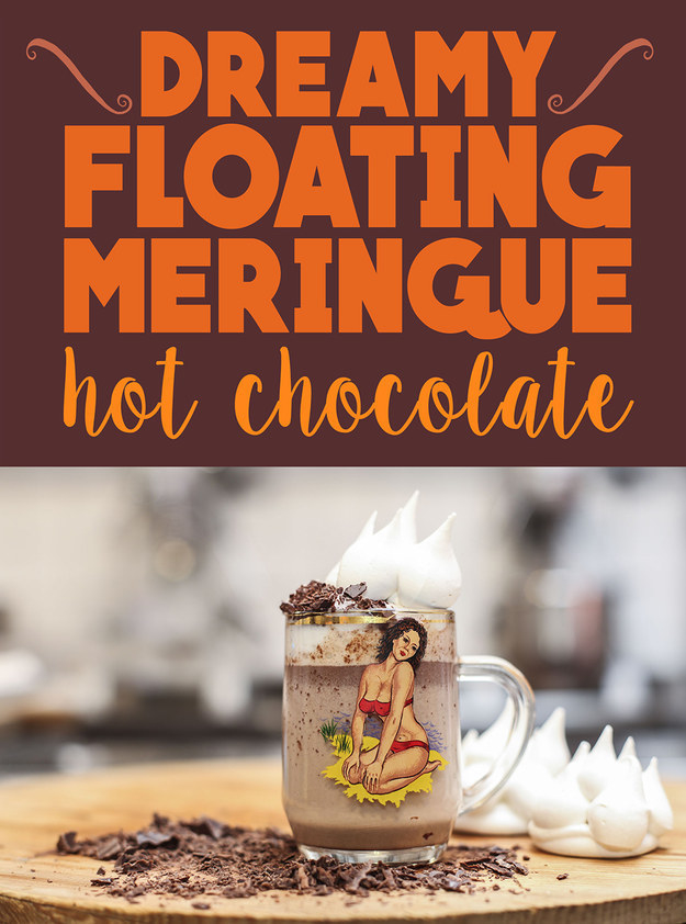 Floating Iceberg Hot Chocolate