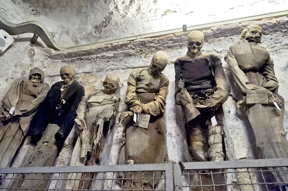 The Capuchin Catacombs of Palermo, Italy