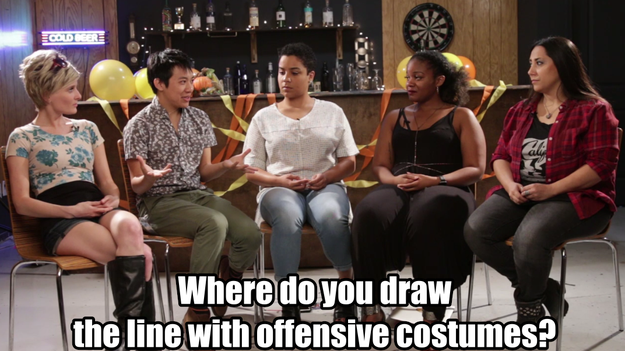 Instead of policing what people decide to wear, how can we educate them about what makes a costume offensive?