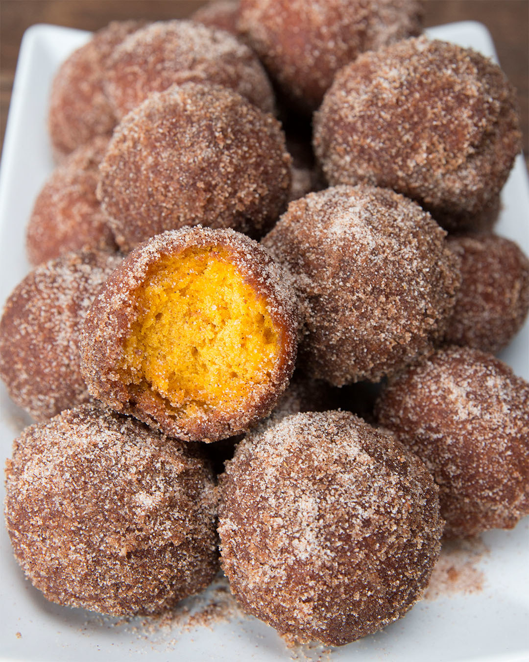 These Pumpkin Spice Donut Holes Are Perfect For Fall