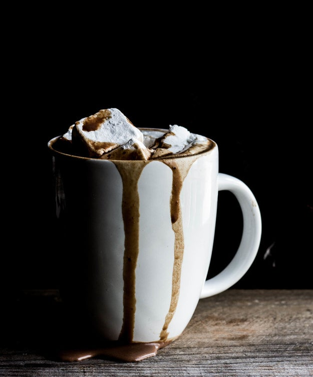 Toasted Marshmallow Hot Chocolate