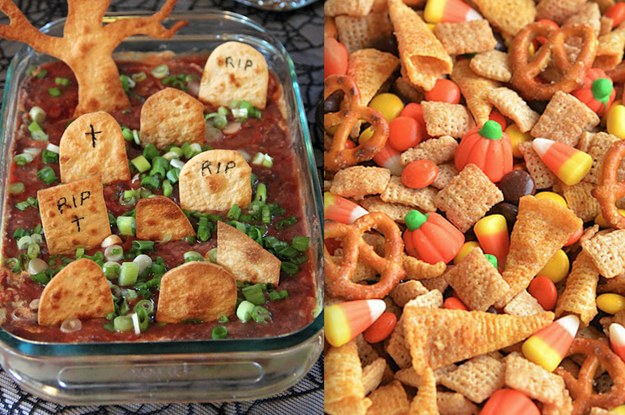 21 halloween party snacks that are pretty darn clever