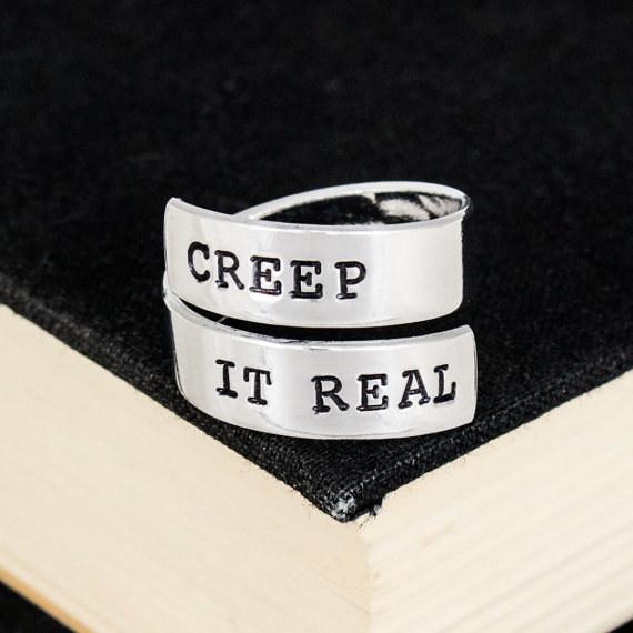 """""""Creep It Real"""" Ring"""