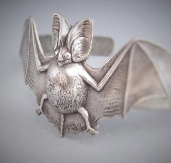 Bat Bracelet Cuff