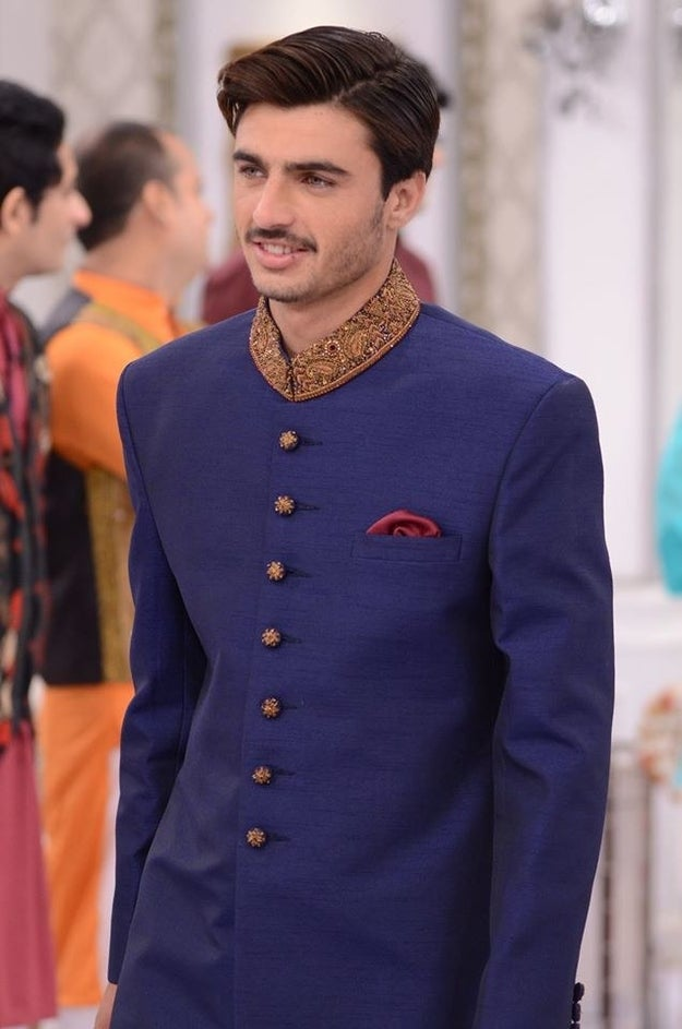 He later changed into a sherwani, causing a collective bursting of every woman's ovaries.