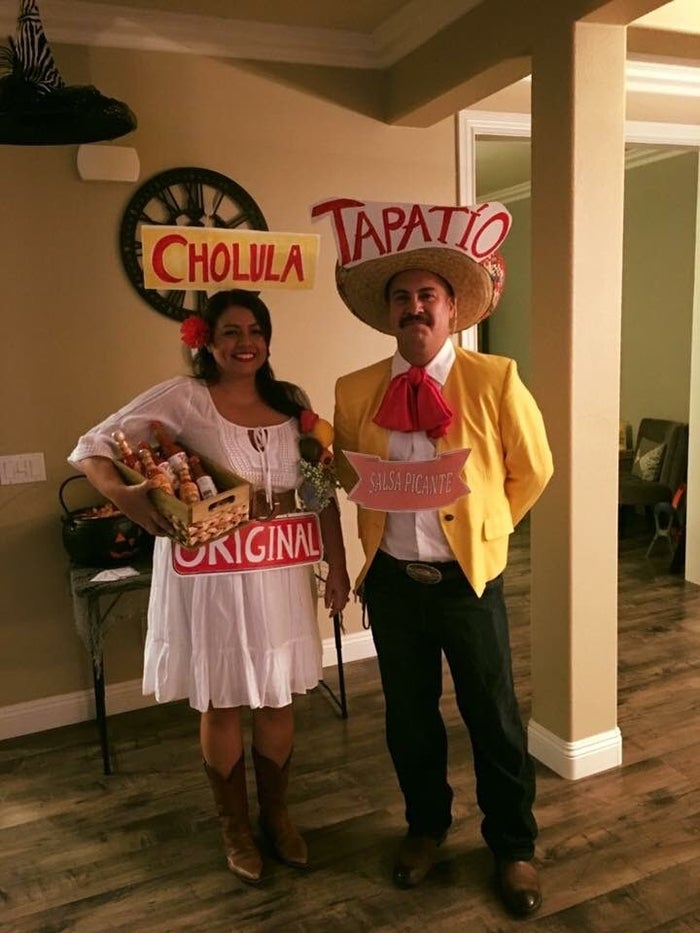 """Samantha said everyone was """"in awe and so impressed"""" by the creativity and DIY nature of their costumes. """"The whole night everyone was laughing,"""" she added."""