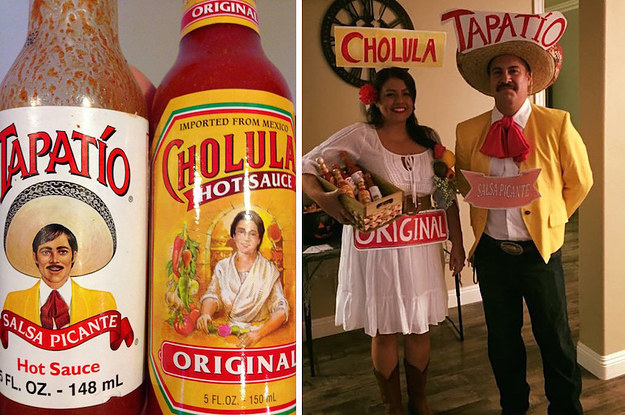 people are calling these parents relationship goals for their hot sauce costumes