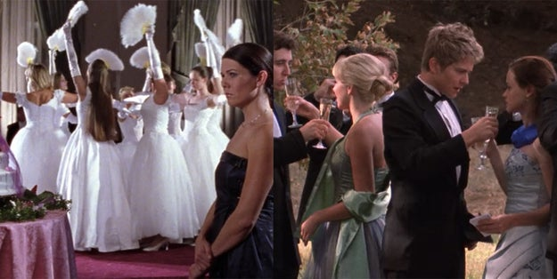 "The dresses seen in the iconic ""You Jump, I Jump Jack"" episode are used two other times on the show."