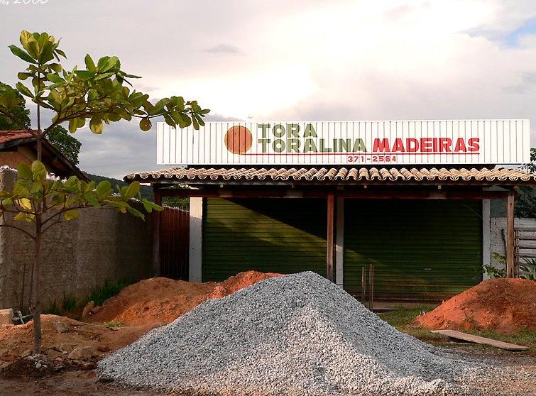 A madeireira mais literária do Brasil (e do mundo) é a Tora Toralina.