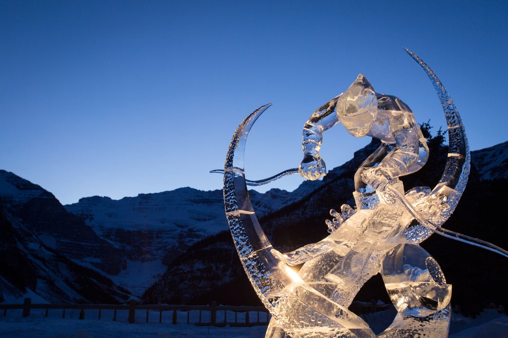 Witness the artistry at the Ice Magic Festival.