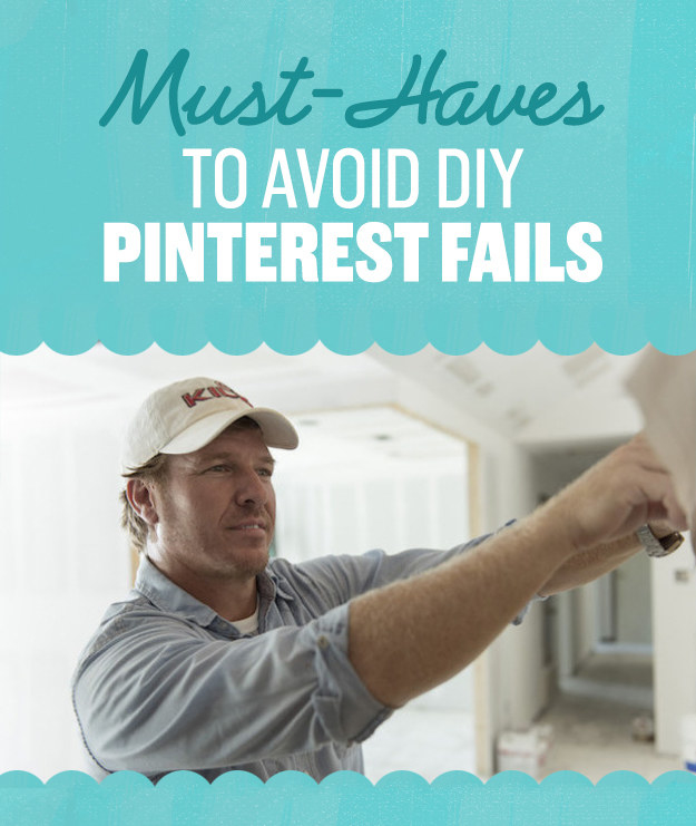 6 Must-Haves To Avoid DIY Pinterest Fails