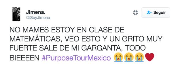 Esto va a generar una baja en los promedios escolares de todas las fanáticas mexicanas.