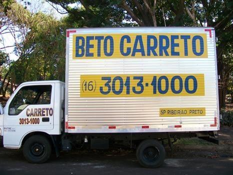Só o Brasil para um caminhão de mudanças chamar Beto Carreto (leia no ritmo do slogan do Beto Carrero).