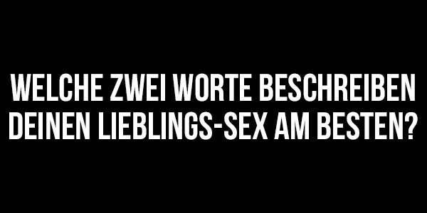 fragen zu sex