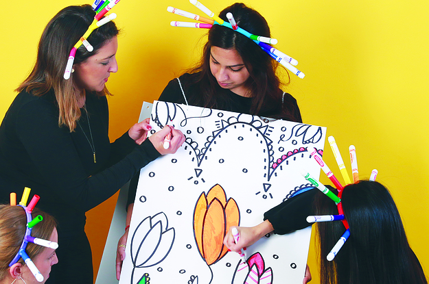 This Easy DIY Coloring Book Costume Is Perfect For Halloween Parties
