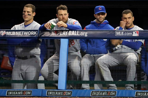 Well, it just so happens that for the FIRST TIME SINCE 1945, the Cubs have made it to the World Series!!!