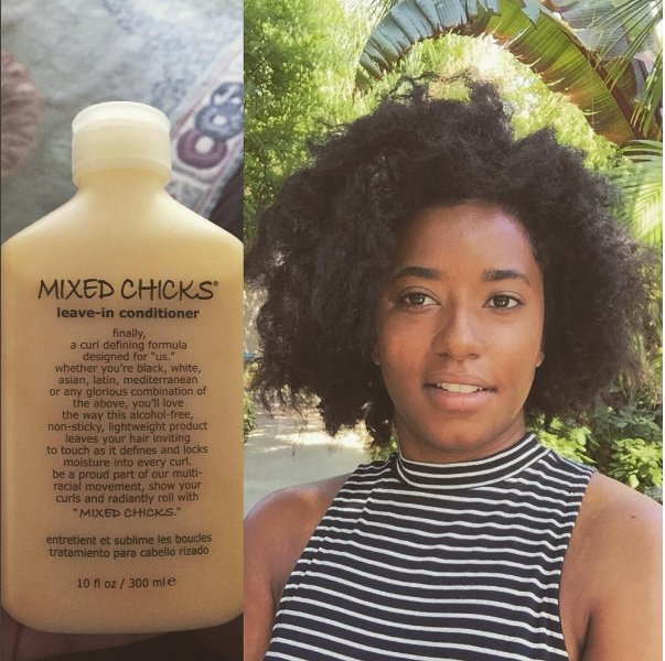 A leave-in conditioner that keeps curls intact without weighing them down.