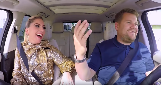 Lady Gaga Is The Latest Carpool Karaoke Guest And It's Obviously Awesome