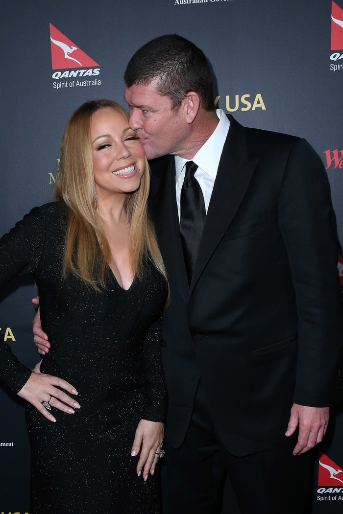 """According to the magazine, a close friend of the Packer family said: """"James had huge reservations about Mariah's new reality TV show and the fact that she was willing to expose their lives to the world."""""""