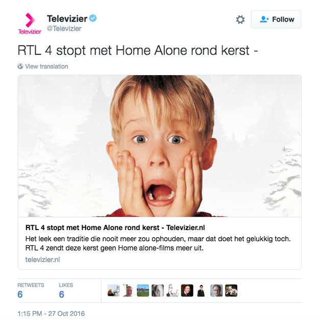 """People Freaked Out Over News That """"Home Alone"""" Would Not Be Shown On TV"""