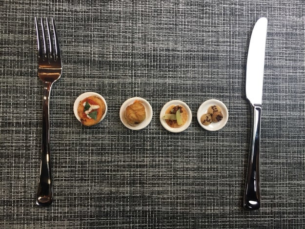 Starting today in NYC, a three-day pop-up is serving TINY VERSIONS of the city's best dishes.