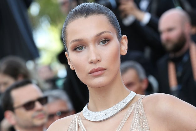 And this is Bella Hadid.