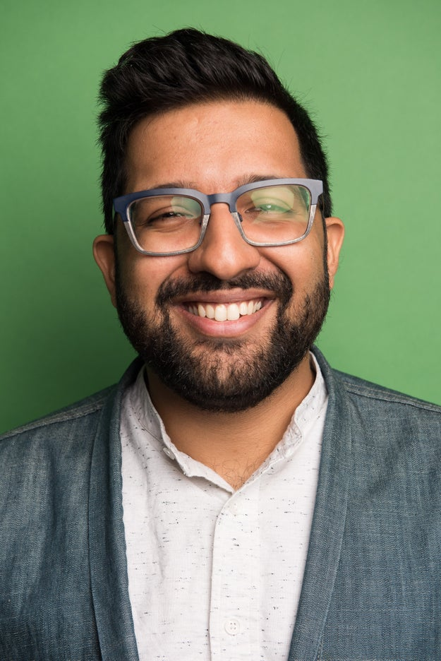 Hello! I'm Ahmed and I'm the host of the newest BuzzFeed podcast, See Something Say Something. I'm also a writer at BuzzFeed and pretty good at talking to people, I think.
