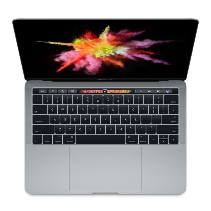 The All-New MacBook Pro Has A Tiny Touchscreen