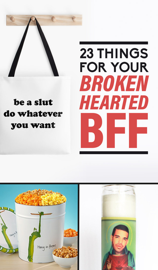 23 little things you can get for a brokenhearted friend. Black Bedroom Furniture Sets. Home Design Ideas