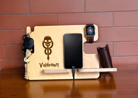 7. This Charging Station That Pays Homage To Voldemort?