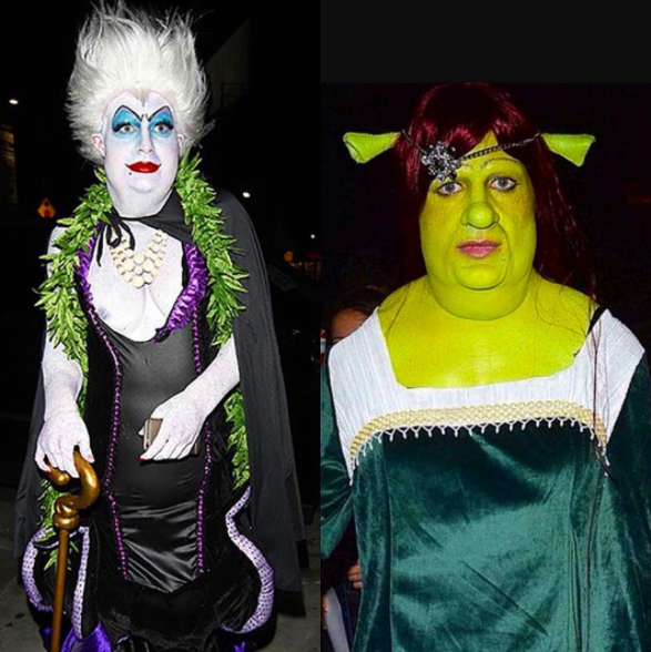 ...as did Colton Haynes, who remembered two of his most epic costumes.