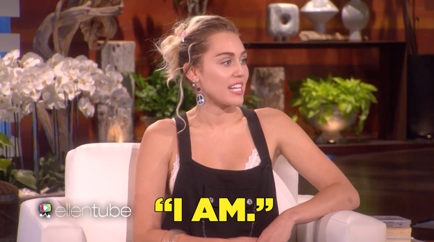 """""""There's a photo that got a lot of attention regarding your engagement ring. Are you wearing it right now?"""" Ellen asked. In return, Miley's response practically sealed the deal."""