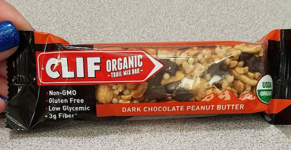 Clif Organic Trail Mix bars