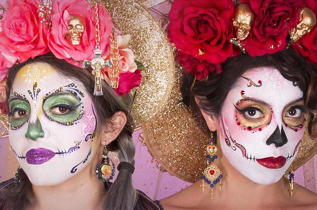 Dia De Los Muertos Calavera Makeup