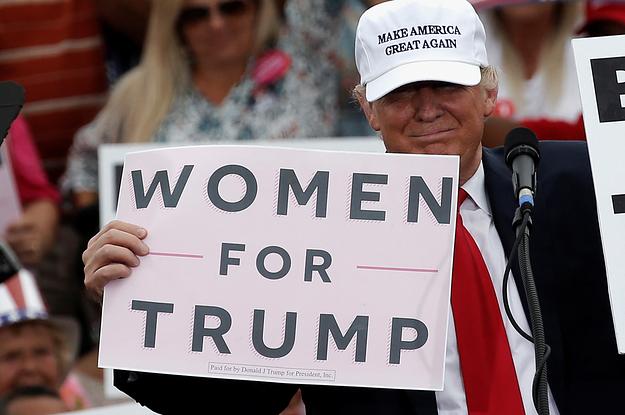Warum Frauen Donald Trump unterstützen