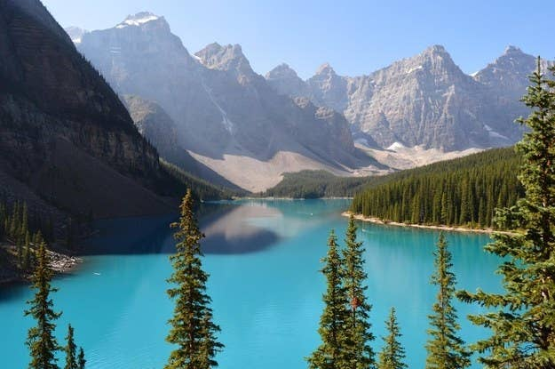 """Pretty much anywhere in the Canadian Rockies is like being in a postcard.""—emilykonopka"