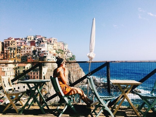 """Hands down, Cinque Terre. It's like a damn magazine out there.""—Samantha Fong"