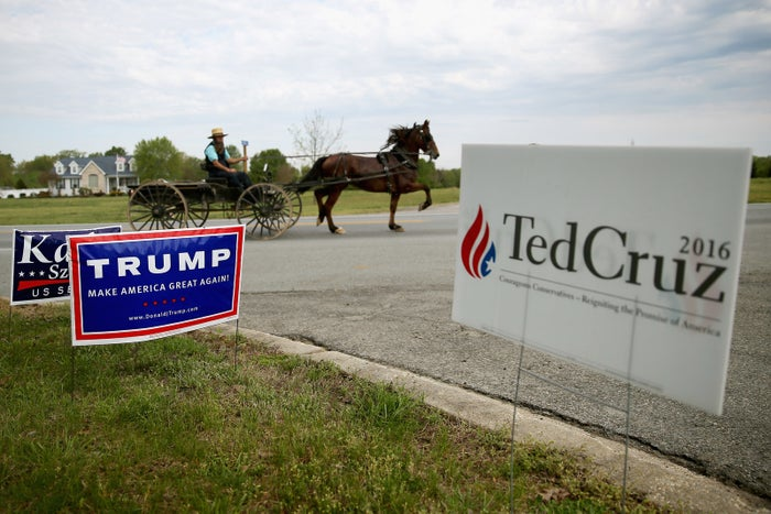 """A story making the rounds online claims that Amish people have pledged their votes to Trump in such numbers as to """"mathematically guarantee"""" him a win come Nov. 8.According to the article, there are 20 million Amish, and enough of them live in key swing states to make it impossible for Hillary Clinton to win the White House now that this religious community has lined up behind her opponent. In fact, there are fewer than 300,000 Amish people in the US, and many of them do not vote."""