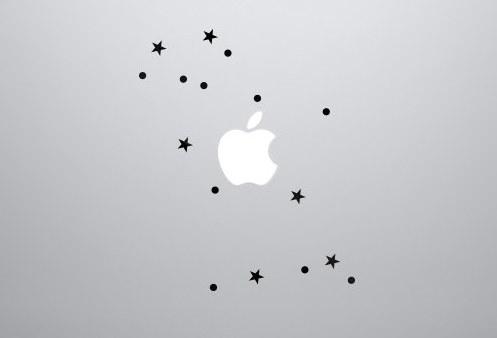 Constellation Laptop Decal