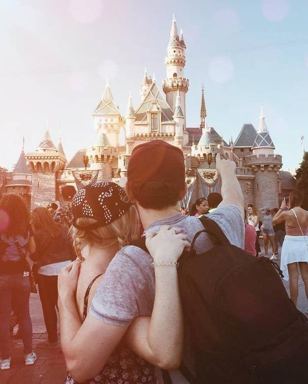 """Disneyland, for sure! It's not a trip to Disney without a shot in front of the castle!""—peterjamesovensbrown"