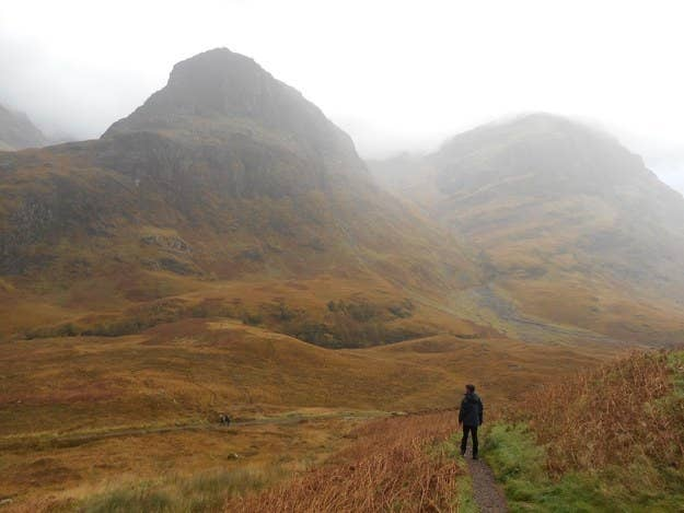 """The Scottish Highlands. No photos will truly do it justice compared to seeing the majesty of the glens and lochs in person, but still pretty incredible to capture in an Insta!""—johnnylapasta"