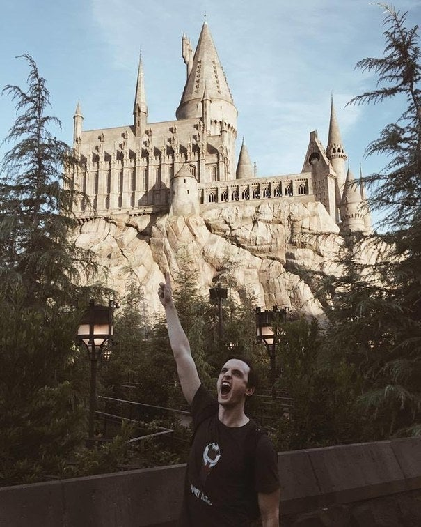 """The Wizarding World of Harry Potter! So brilliant. It's so wonderful to capture the most incredible days at a park.""—peterjamesovensbrown"