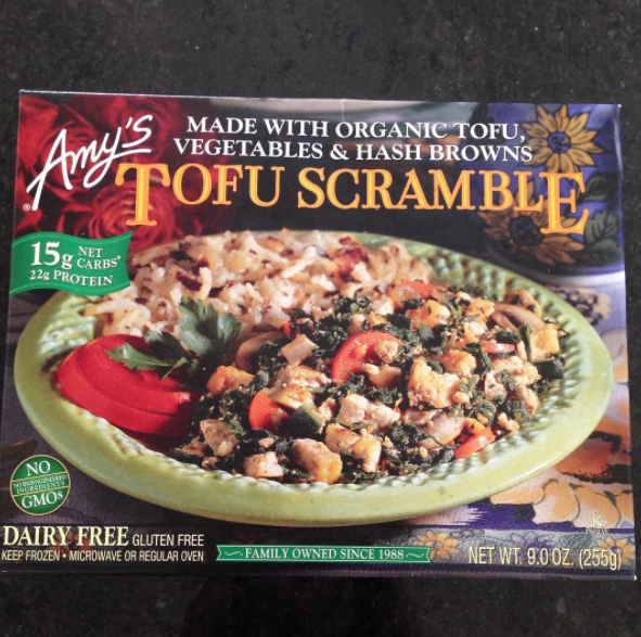 Amy's Tofu Scramble With Vegetables & Hash Browns