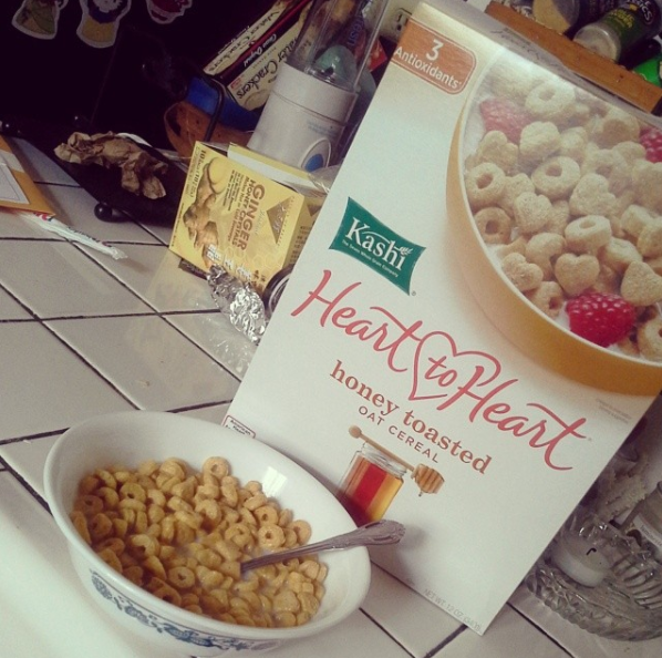 Kashi Heart to Heart Honey Toasted Oat Cereal