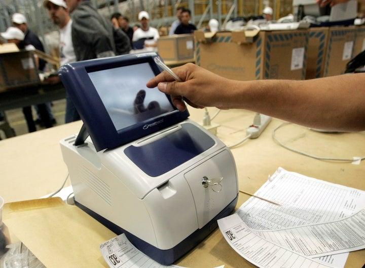 george soros voting machine company