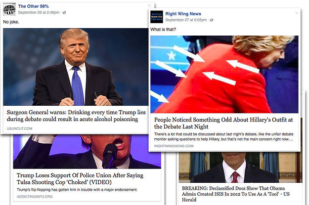 Hyperpartisan Facebook Pages Are Publishing False And Misleading Information At An Alarming Rate